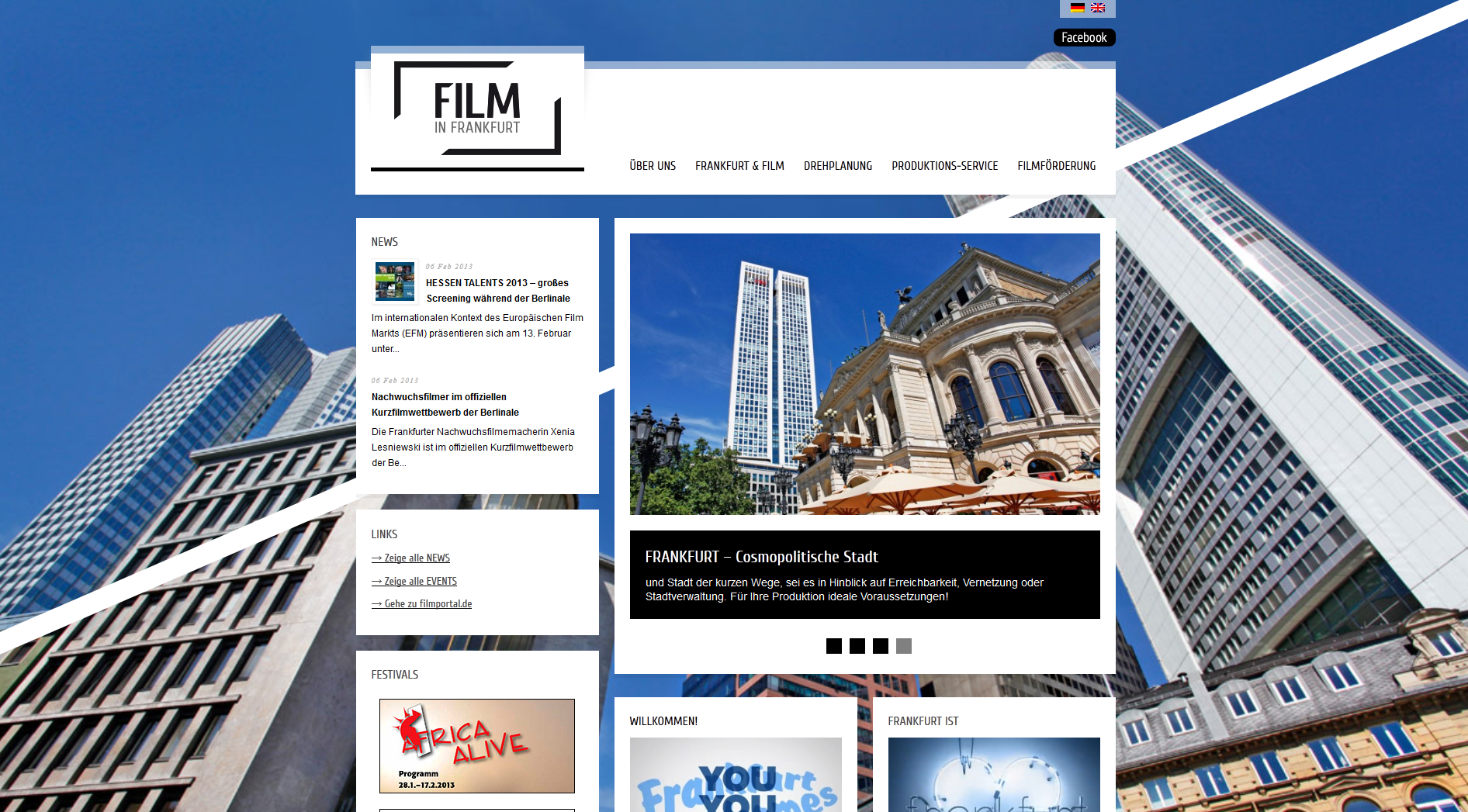 Film in Frankfurt - Screenshot