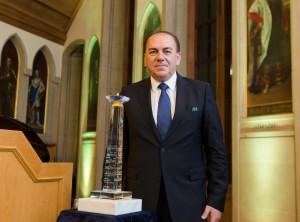 European Banker of the year 2014, Prof. Dr. Axel A. Weber